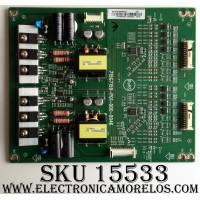 LED DRIVER / VIZIO LNTVFI39WXXC3 / 715G7159-P01-000-004K / FI39WXXC3 / MODELO M65-C1 LTCASNBS / PANEL T650QVF06.0