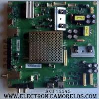 MAIN / VIZIO XFCB02K005 / 756TXFCB02K0050 / 715G7126-M01-000-0041 / (X)XFCB02K005040X / PANEL TPT550J1-HVN08.U REV: S110A / MODELOS E55-E1 LTM7VIAT / E55-C1 LTCWSHAR / E55-C1 LTMWSHAR