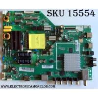 MAIN / FUENTE / (COMBO) / VIZIO A15063437 / 75500W010007 / TP.MT5580.PB75 / MODELO E40-C2 LWZQSFCR