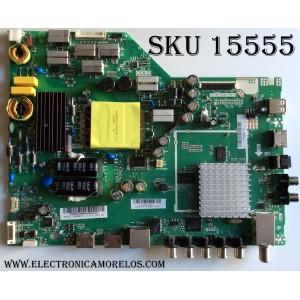 MAIN / FUENTE / (COMBO) / VIZIO A15105493 / 75500W01A009 / TP.MT5580.PB75 / PANEL T430HVN01.0 / MODELO D43-D2 LWZ2ULAR