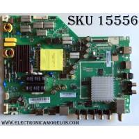 MAIN / FUENTE / (COMBO) / VIZIO A16089815 / 75500W01A009 / TP.MT5580.PB75 / PANEL T430HVN01.0 / MODELO  D43-D2 LWZJULDS