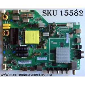 MAIN VIZIO A16090206 / TP.MT5580.PB75 / 75500W01A009 / MODELO D43-D2 LWZ2ULDS / PANEL T430HVN01.0