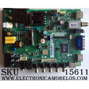 """MAIN / FUENTE / (COMBO) / SANYO B14110037 / TP.MS3393T.P68 / 3MS3393X-1 / 02-SYS39B-C039001 / MODELO 24"""""""