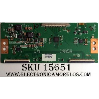 T-CON / LG 3149A / 6871L-3149A / 6870C-03070A / PANEL NC320DXN SAAP1 / MODELO 32LN530B-UA BUSFLWM