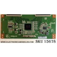 T-CON / RCA V500DK2-PS1 / V580DK2-PS1  / REV:3.4 / V580DKS2-QS1-C1-12V  / MODELOS LED58G45RQ 5513-LE58G45-A1