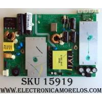 FUENTE DE PODER / ELEMENT 38J1574 / CVB42001 / RX-130731-1 / CVB42001-2 / 1.93.10.00018 / MODELO ELEFT406 / PANEL D400D3-GG51-COX