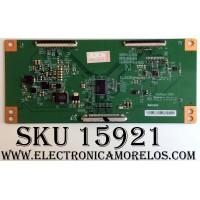 T-CON / RCA 2FN072GFE / V500HJ1-CPE1 / E88441 / MODELO LED58G45RQ / PANEL V-580HJ1-PE6-12V