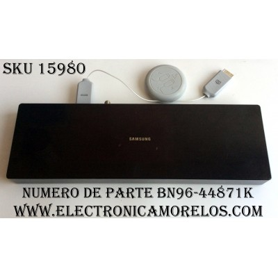 CAJA PARA TV SAMSUNG / ONE CONNECT BN96-44871K / ENTRADAS HDMI / ANTENA / USB / LAN / OPTICAL / SOC1000MA / S0C1000MA / BN68-0710D-00 / BN39-02301A J411428 / MODELO QN55Q75FMFXZA