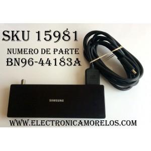 CAJA PARA TV SAMSUNG / ONE CONNECT BN96-44183A / ENTRADAS HDMI / ANTENA / USB / OPTICAL / SUSTITUTAS BN91-19252A / BN91-18726A / BN94-12361A / BN94-11965A / MODELOS UN55MU850DF / UN55MU9000F / UN65MU800DF / UN75MU800DF / UN75MU8000F / UN82MU800DF