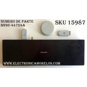 CAJA PARA TV SAMSUNG / ONE CONNECT BN96-44724A / ENTRADAS HDMI / ANTENA / USB / EX-LINK / LAN / OPTICAL / SUSTITUTAS BN91-19139A / MODELO UN55LS003AFXZA
