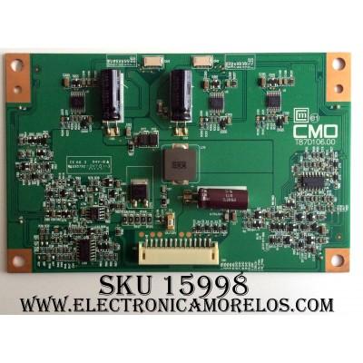 LED DRIVER / VIZIO 27-D045557 / T87D106.00 / PANEL´S L315H3-2EA-A002B / V315H3-XCE3 / MODELO E322MV LINMKDCM