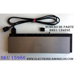 CAJA PARA TV SAMSUNG / ONE CONNECT BN91-13489Z / ENTRADAS HDMI / ANTENA / USB / EX-LINK / LAN / OPTICAL / SUSTITUTAS BN94-07651G / BN94-07756J / MODELO UN55HU9000FXZA