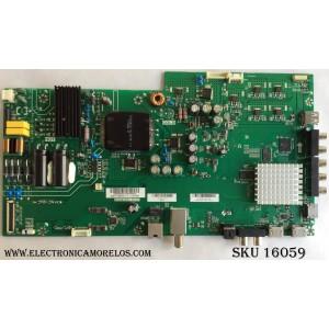 MAIN / FUENTE / VIZIO A17030882 / 75502001001716A / TPD.MT5581.PC767 / MODELO D43F-E2 LWZ2VNAT / PANEL T430HVN01.0