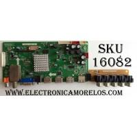 MAIN / ELEMENT 1B2B2201 / T.RSC8.19B 11471 / CN.SY36A 11436 / PANEL T315XW03 V.F / MODELO ELCFW327