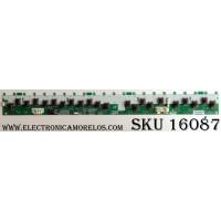 BACKLIGHT INVERTER LEFT / SONY 2493A / LJ97-02493A / SSB550H22S01 / 0923(090508)3 / PANEL LTZ550HF02-001 / MODELO KDL-55V5100