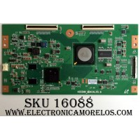 T-CON / SONY 03025C / LJ94-03025C / 4655NN_MB4C4LV0.6 / MB4C4LV0.6 / PANEL LTZ550HF02-001 / MODELO KDL-55V5100