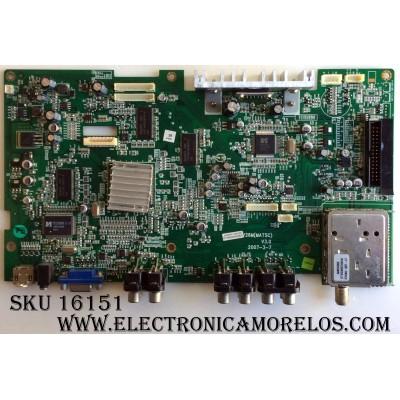 MAIN / INSIGNIA E22874 / DTV20M(MATSC) / DTV26M(MATSC) / V3.0 / 2007-3-7 / MODELOS NS-LTDVD20 / DX-LTDVD20