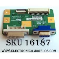TARJETA DE PC / VIEWSONIC 7052600A0K-B1 / 6P18V00036-A2 / E150630 / PANEL HSD190SGW1-A00 / MODELOS VX1935WM VS11307 / M19W1