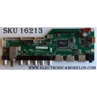 MAIN / RCA 65120RE01M3393LNA19-A4 / LD.M3393.B / MK-RE01-140218-ZQ302 / 3393B1410000 / PANEL V645H1-PE1-12V / MODELO LED65G55R120Q 3527-LE65G55-A4