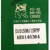 TARJETA CONVERTIDORA / RCA AE0140364-A1 / A20.20A08---110X / AE0140364 / MODELO SLD65A55RQ