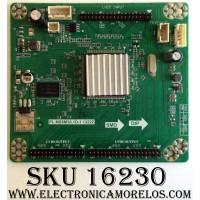 LED DRIVER / RCA A13082662 / PL.MS6M30.1D-1 13222 / RE3342B060-A1 / 111221152104 / PANEL LK520D3HB84 / MODELO ¨52¨