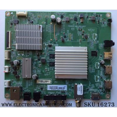 MAIN / INSIGNIA XHCB01K010040X / 715G8501-M01-B00-005T / MODELO NS-55DR620NA18 / PANEL TPT550U2-D072.L REV:S01B