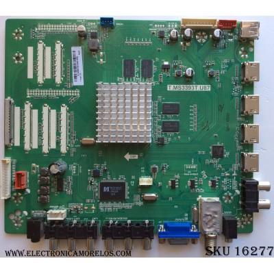 MAIN / UPSTAR K14090162 / T.MS3393T.U87 / TT5461D01-1 / MODELO P55EWX / PANEL KM055LSHU01
