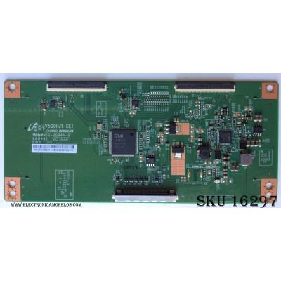 T-CON / PANASONIC 35-D082241 / V500HJ1-CE1 / MODELO TC-L42E6L / PANEL V420HJ1-LE6 Rev.B6