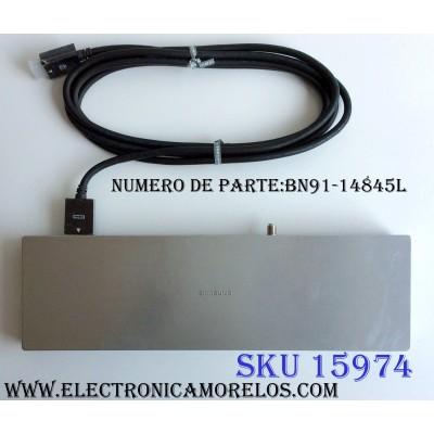 CAJA PARA TV SAMSUNG / ONE CONNECT BN91-14845L / ENTRADAS HDMI / ANTENA / USB / OPTICAL / MODELO UN55JS9000FXZA