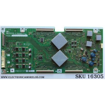 T-CON / SHARP CPWBX3874TPXZ / CPWBX3874TP / KE260 / MODELO LC-65D64U / LC-C6554U / PANEL R1LK645D3LZ40V