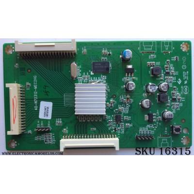 LED DRIVER / SANYO V8-NV312SY-LM1V001 / 40-N72312-MEC2HG / V8-NV312SY-LM1V118 / PANEL`S V580HK1-LD6 REV.C1 / V650HP1-LS6 REV.E1 / MODELOS DP58D34 P58D34-00 / DP65E34 P65E34-00
