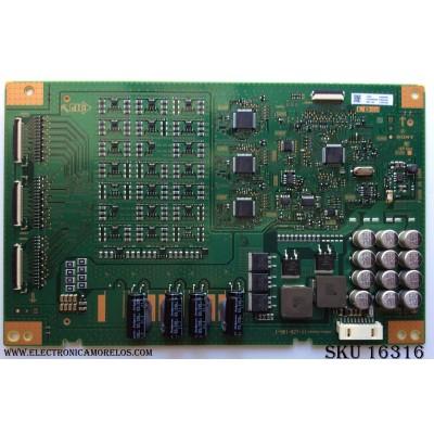 LED DRIVER / SONY A-2170-127-A / A2166063A / 1-981-827-11 / MODELO XBR-55X900E / XBR-55X905E / XBR-55X907E / PANEL YD7S550DND01B