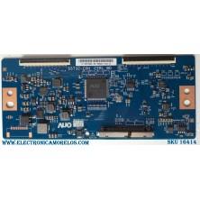 T-CON INSIGNIA / NUMERO DE PARTE 55.55T32.C28 / 5555T32C28 / PANEL TPT550U1-QVN05 / MODELOS NS-55DR620 / NS-55DF710 / SHD1-55 / 55LF711U20/ D55-F2 / E55-E2 / M557-G0 / M558-G1 / V555-H11 / V555-G1 / V556-G1 / 55LF621U21 / M55Q7-H1 / V555-H1 LMXWZHPX