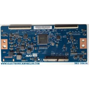 T-CON / INSIGNIA 55.55T32.C28 / 55T32-C0H / 5555T32C28 / PANEL TPT550U1-QVN05.U REV:S57B0A / MODELOS NS-55DR620NA18 / M557-G0 LAUAQCKV / V556-G1 LTMWYULV / NS-55DF710NA19