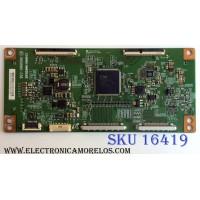 T-CON / SANYO 4Z.HF5C.GAR / 4ZHF5CGAR / V650HK1-CS6 / PANEL LVF650CMDX E1 V1 / MODELO FW65D25T