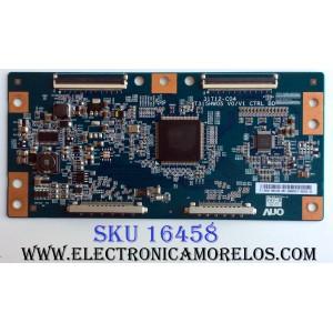 T-CON / LG 55.37T06.C05 / 5537T06C05 / 31T12-C04 / T315HW05 V0/V1 / PANEL T370HW04 V.1 / MODELOS 37LE5300-UC / 37LE300-UC AUSDLUR