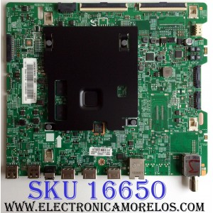 MAIN / SAMSUNG BN94-11271B / BN97-10660D / BN41-02528A / MODELO UN50KU6270FXZC