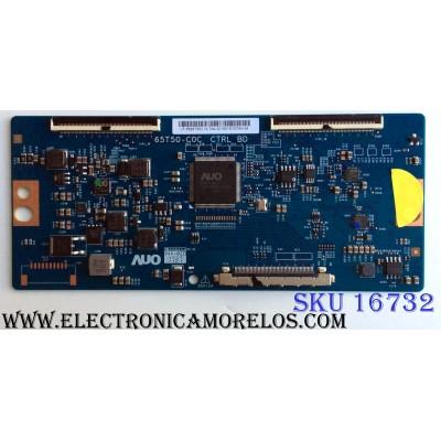T-CON / HISENSE 55.65T50.C13 / 5565T50C13 / 65T50-C0C / PANEL´S HD650M5U52-B1 / HD650S1U51\S1\GM\CKD\ROH / MODELOS 65H6D / 65H6E / D65-E0 LAUAWDAT / D65-E0 LAUAWDKT