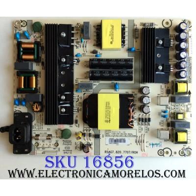 FUENTE DE PODER / SHARP 220093 / RSAG7.820.7707/ROH / HLL-4455WP / CQC13134095636 / E166702 / PANEL`S HD600N3U21-L2\S0\GM\ROH / HD600N3U21 / MODELO LC-60P6070U