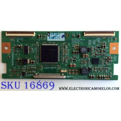 T-CON / LG 6871L-2003A / 6870C-0243C / LC420 / LC470WUN-SBA1 / PANEL LC470WUE (SB)(B2) / MODELOS 47LH30-UA AUSVLUR / 47MF439B / F7 / 47PFL3704D / F7