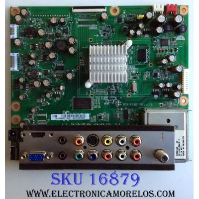 MAIN / POLAROID 60.EB15M.10A / TDX-1516 / 60EB15M10A / 60EB15M10A02P / PANEL M185B1-L02 Rev.C1 / MODELO 1921-TDUB
