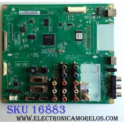 MAIN / LG EBU61587302 / EAX64272803(0) / EBU61376602 / EAX64272802(0) / PARTE SUSTITUTA EBT61542110 / PANEL LC420WUE (SC)(A2) / MODELOS 42LK450-UH CWMYLH / 42LK450-UH CUSYLH / 42LK450-UB CUSYLH