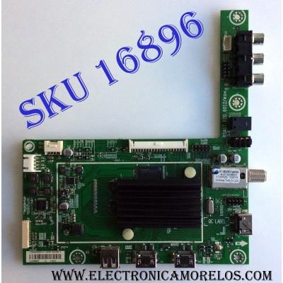 MAIN / HISENSE 183397 / RSAG7.820.6012/ROH / LTDN48K250WUS(0) / 183397/E02199A / 172472 / PANEL HD480DF-B37\S3.B2\GM\ROH / MODELO 48H4