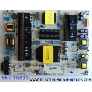 FUENTE DE PODER / HISENSE /SHARP / 222177 / RSAG7.820.7748/ROH / HLL-4360WC / CQC13134095636 / PANEL HD550S1U51-T0\S1\GM\ROH  228720 / MODELO 55H6E / LC-55Q7040U / LC-55Q7030U