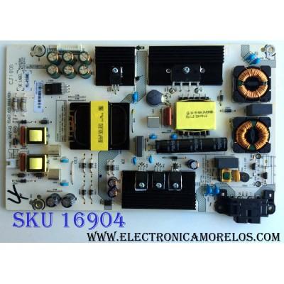 FUENTE DE PODER / HISENSE 211734 / RSAG7.820.6666/ROH / HLL-4155WE / CQC13134095636 / E166702 / PANEL´S HD500K3U53\S1\GM\CKD\ROH / HD500K3U53\S1\BBY\GM\ROH 213553 / MODELOS 50R7E / 50R6D