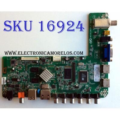 MAIN / COBIA T201508110A / CNC3393_RK3128_A1 / VER:1.1 / HV320WHB-N80 / 5X5705 / 20150917_112428 / PANEL CNC32HD720 / MODELO CLEDTV3214SM