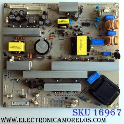 FUENTE DE PODER / LG EAY34796801 / 34796801 / EAX322668301 / 9 / 2300KEG010A-F / PANEL LC370WX3 (SL)(D1)/  MODELOS 37LC7D-UK / 37LC7D-UB.AUSVLMM