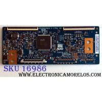 T-CON / NEC 55.55P02.C04 / 5555P02C04 / 55P09-C01 / P550HVN06.0 / PANEL P550HVN02.2 / MODELOS V552-AVT / V552 / SB-5570HD