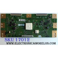 T-CON / SONY 1-897-052-11 / 6871L-4875B / 6870C-0704A / 4875B / PANEL LC430EQY (SK)(A1) / MODELO XBR-43X800E