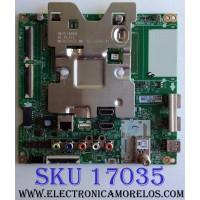 MAIN / LG EBU64688503 / EAX67872805(1.1) / 8G1L007T-0001 / PANEL HC430DQG-SLUR2-914X / MODELO 43UK6500AUA BUSWLJM